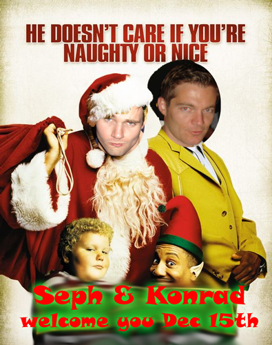 Seth and Hoff Christmas